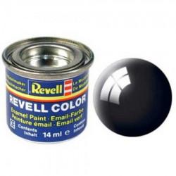Revell crna boja sjajna 14ml 3704 ( RV32107/3704 )