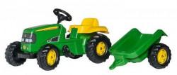 RollyToys Traktor John Deere sa prikolicom ( 012190 )