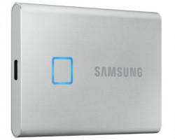 Samsung Portable T7 Touch 500GB srebrni eksterni SSD MU-PC500S