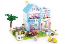 Sluban kocke, kuća sa baštom, 547 kom ( A016151 )