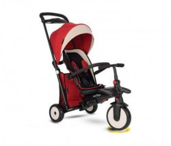 Smart Trike tricikl folding 500 recliner 9m+ red melange ( 5055000 )