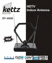 Sobna TV/FM antena Kettz DT-K035 + pojačivač ( 00K035 )