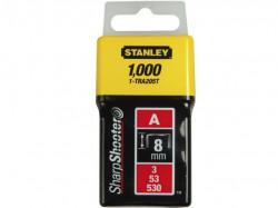 "Stanley 1-TRA205T Klamerice tip ""A"" 8mm 1000kom"