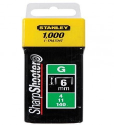 "Stanley 1-TRA704T Klamerice tip ""A"" 6mm 1000kom"