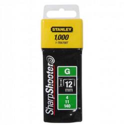 "Stanley 1-TRA708T Klamerice tip ""G"" 12mm 1000kom"