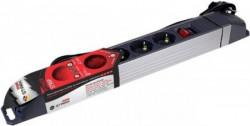 Stark switch produžni kabl ALU 1.8m, 5 utičnica, prekidač