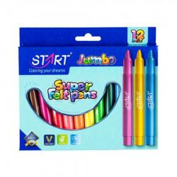 Start flomaster jumbo 12 boja start ( STR05601 )