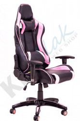 Stolica za gejmere - Ultra Gamer (pink - crna)