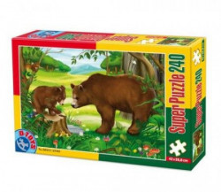 Super Puzzle 240PCS ANIMALS 03 ( 07/60211-03 )