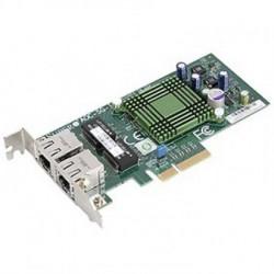 Supermicro AOC-SGP-I2 LAN 2-port RJ45 Gigabit Ethernet controller, PCI-e x4, Intel® i350AM2 ( AOC-SGP-I2 )
