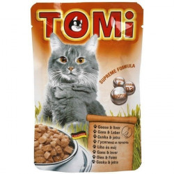 Tomi hrana za mačke guska/jetra 100g ( TM43005 )