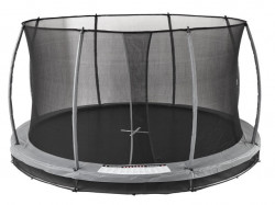 Trambolina Ugradna SUMMEN 396cm sa sigurnosnom mrežom - Siva ( 4702611 )