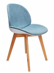 Trpezarijska stolica TRACE - Plava