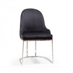Trpezarijska stolica ZEN Crna 500x480x900 mm ( 775-068 )