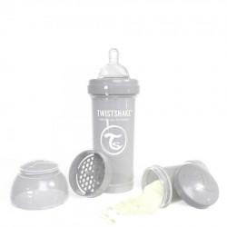 Twistshake flašica za bebe 260 ml pastel grey ( TS78260 )