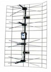 Vega antena spoljna mrezasta sa pojacalom, 15-32db, UHF/VHF/DVB-T2 ( ANT-408 )