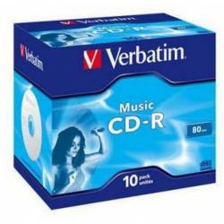 Verbatim 43365/43364 CD-R AUDIO 700MB 80MIN