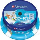 Verbatim CD-R Printable 700MB 52X 43439 ( 74P/Z )