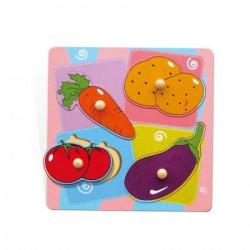 Viga 59514 Povrće dvoslojna umetaljka