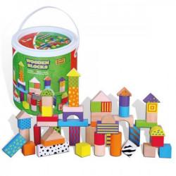 Viga 59695 drveni šareni blokovi u kutiji ( 10482 )