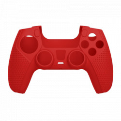 White shark PS5 541 body lock red silicon case