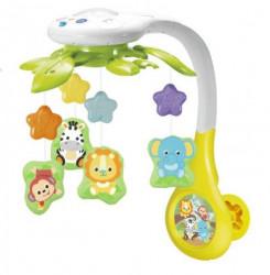 Win fun igračka muzička vrteška/projektorom životinje ( A029898 )