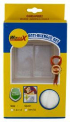 Womax mreža za prozor 1300mm x 1500mm antialergijska ( 0316785 )