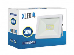 XLed led reflektor 30W, 6500K, 2400Lm , IP65, AC220-240V, beli ( Xled 30w white )