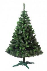 Zelena jelka sa svetlo zelenim vrhovima 150 cm