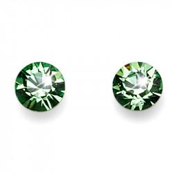 Ženske Oliver Weber Fine Cut Peridot mindjuše sa swarovski zelenim kristalom