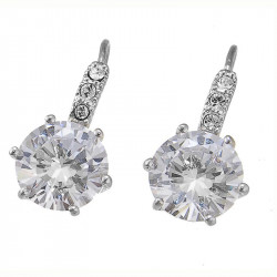 Ženske Oliver Weber True Crystal mindjuše sa swarovski belim kristalom