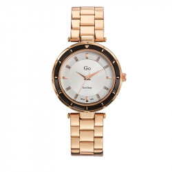 Ženski Girl Only Go Roze Zlatni Modni ručni sat sa metalnim kaišem