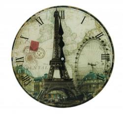 Zidni sat Pariz R30cm ( 203151 )