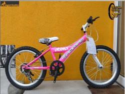 """Adria atena bicikl 20""""/6 Pink-bela 11"""" Ht ( 915168-11 )"""