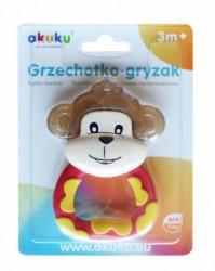 Akuku zvečka glodalica majmun ( A017089 )