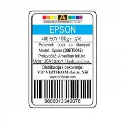 American Inkjet Epson PLAVA 400ECY/T66420/T67320/T67420/ECO-TANK (30ET6642/Z)