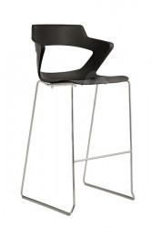Barska stolica Aoki Bar PC - Crna