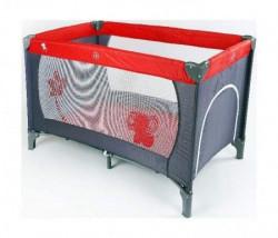 BBO Krevet torba 1 nivo sivo-crvena ( 8069V1 )