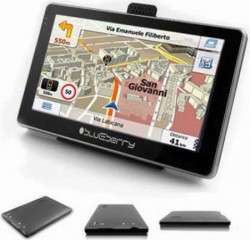 "Blueberry GPS Nav 2GO547 - 5"" LCD 480x272 pix, MTK 3353 800MHz, Full EU, SRB+RUS maps, 8GB Internal Memory, 128 MB RAM, FM Transmitter, Wi"
