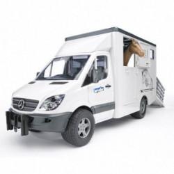Bruder Kamion MB Spriner za prevoz konja ( 025335 )