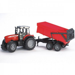 Bruder Traktor Ferguson 7480 sa prikolicom ( 020453 )