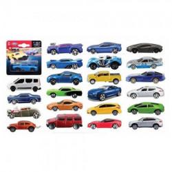 Burago automobili 1:64 asst red blister ( BU59000A )