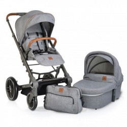 Cangaroo Kolica icon grey set 2 in 1 sa tvrdom korpom ( CAN5000 )