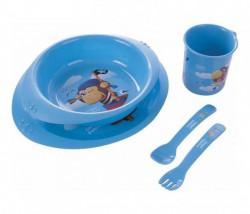 Canpol baby set za hranjenje 4/405 owl, pirates ( 4/405 )