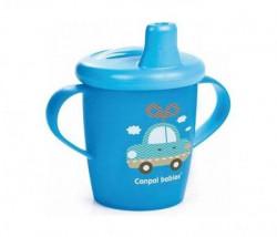 Canpol baby šolja 250ml non spil 31/200 toys - blue ( 31/200_blu )