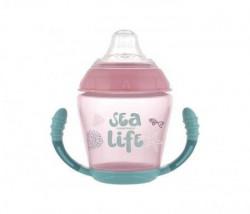 Canpol šolja 230ml - sea life pink ( 56/501_pin )