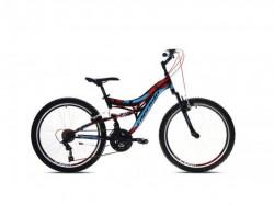 """Capriolo CTX 240 24""""18ht crno-crveno 15"""" ( 917340-15 ) Bicikl"""