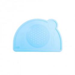 Chicco silikonski tanjir, plavo ( A049971 )