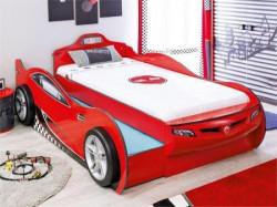 Cilek Coupe auto krevet (sa fiokom) crveni 90x190 & 90x180 cm ( 20.03.1306.00 )