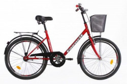 "CITY Bicikla Adriatic 24"" bordo ( 460002 )"